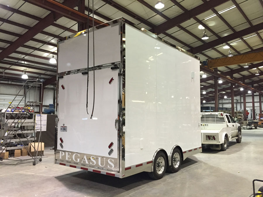 Pegasus Trailers | Custom Built Race Trailer - 16' Stacker