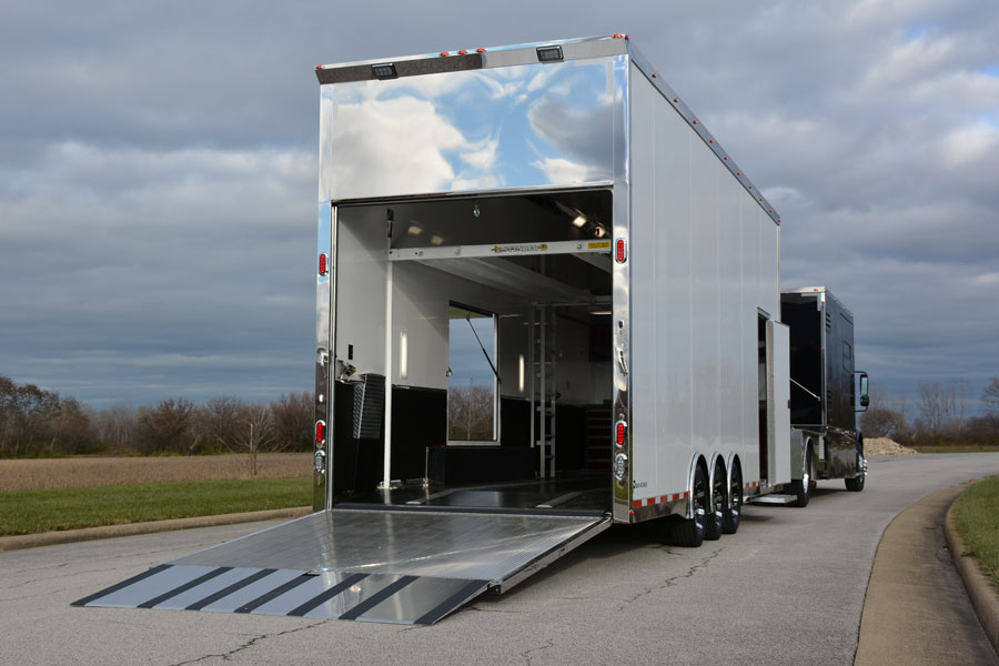 Pegasus Trailers 28' Custom-built Stacker