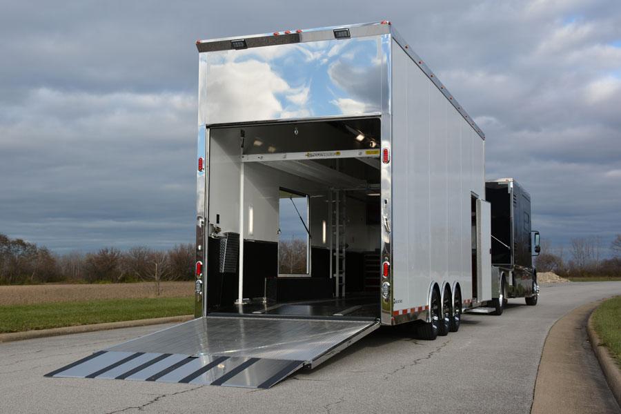 Pegasus Trailers 28' Custom-built Stacker