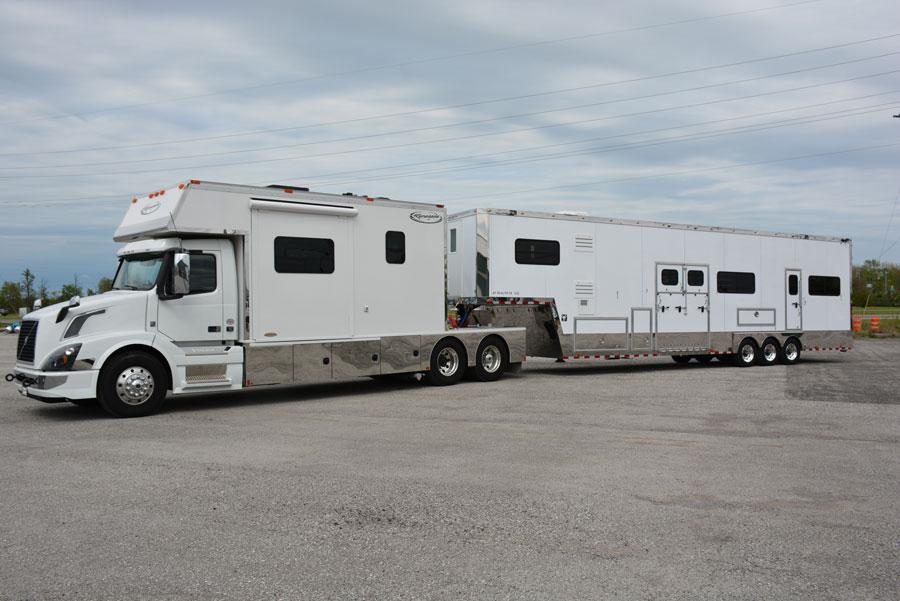 Dickey 43' Pegasus Magnum Custom Horse Trailer